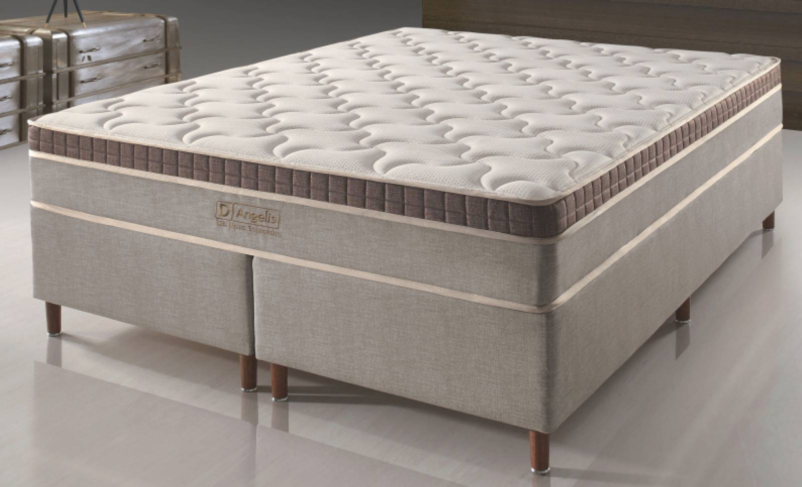Conjunto Cama Box DG 328 D'Angelis - All Home