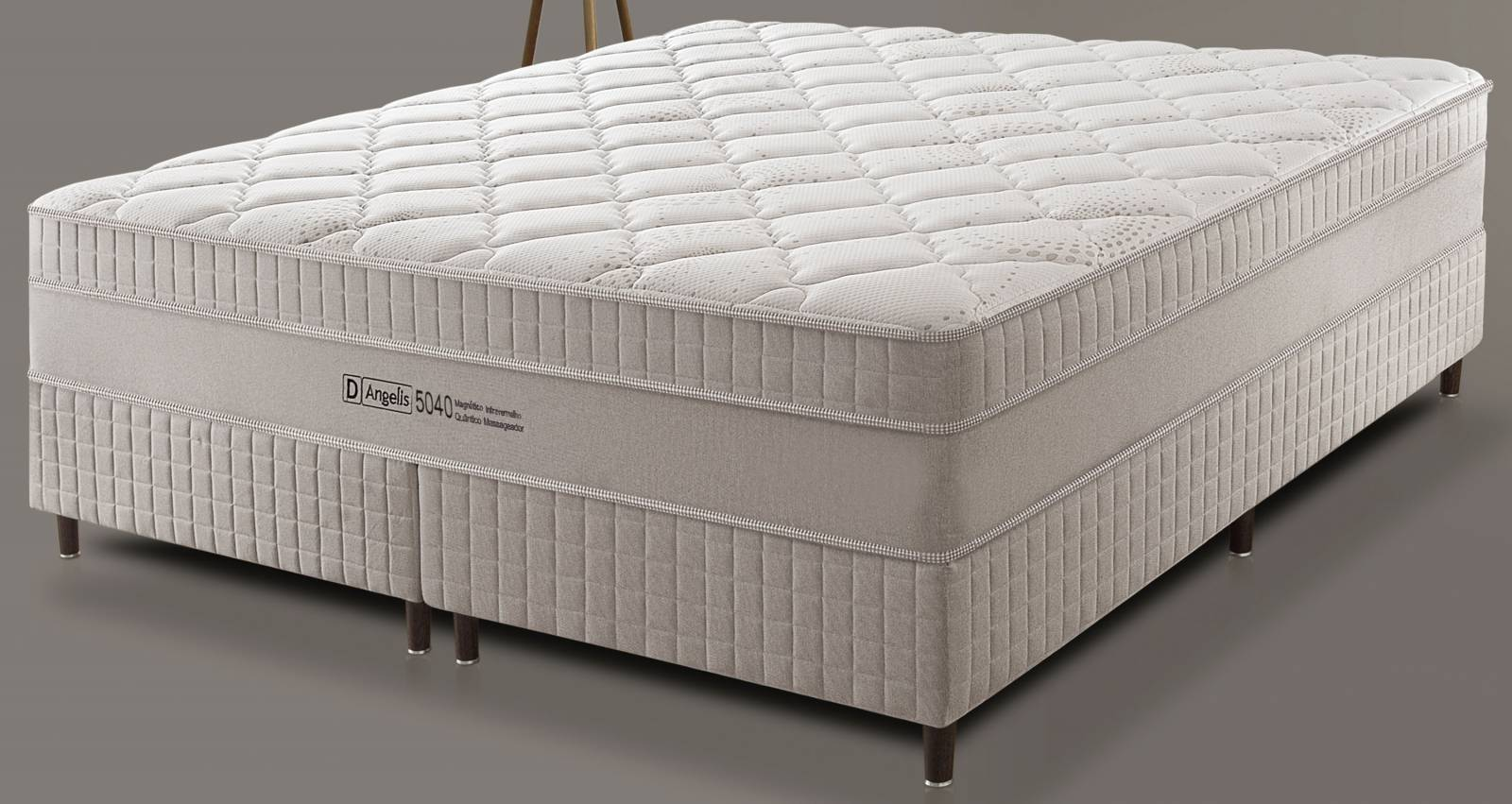 Conjunto Cama Box DG 5040 Magnético D'Angelis - All Home