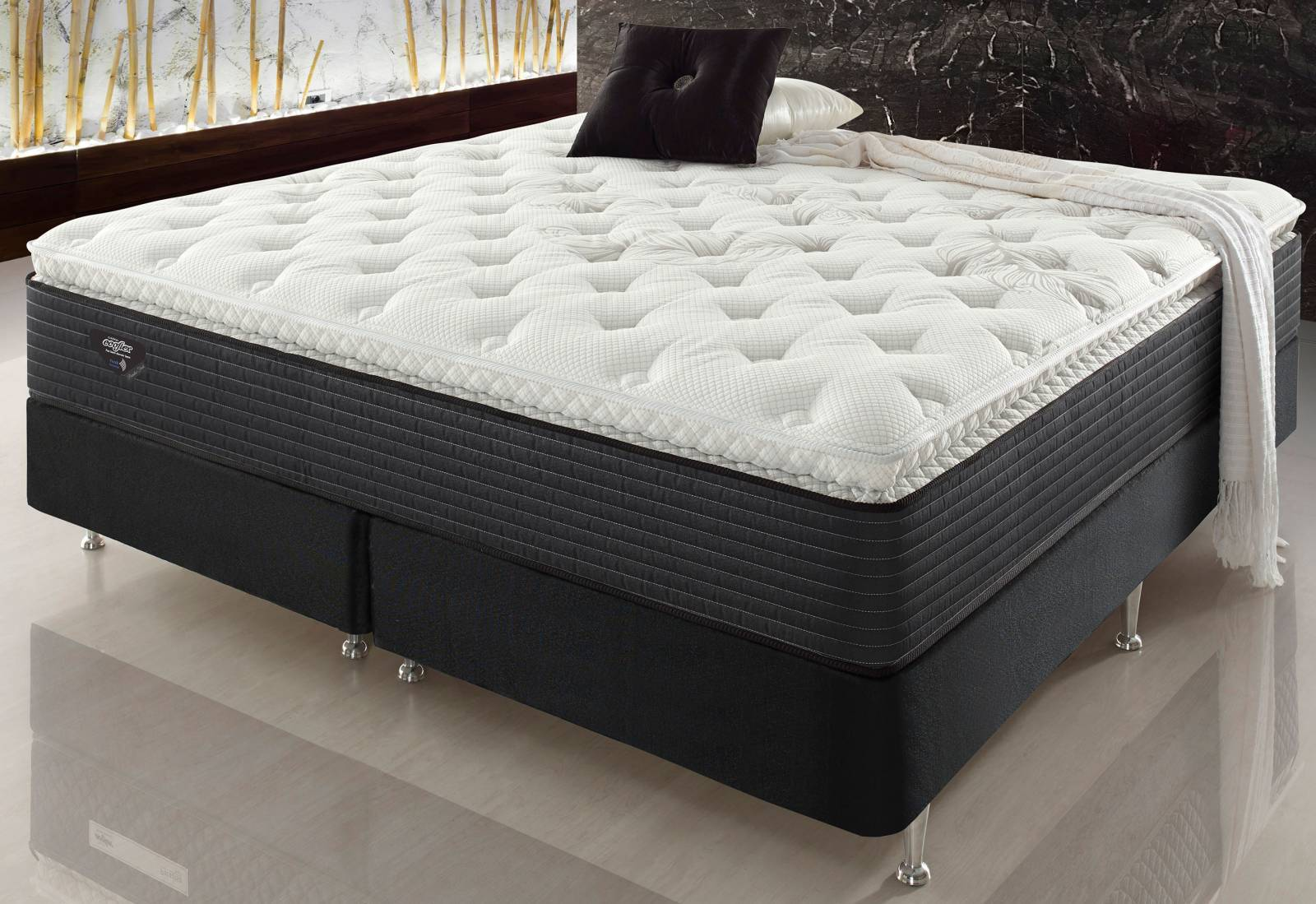 Conjunto Cama Box Paradise Fresh Ecoflex - All Home