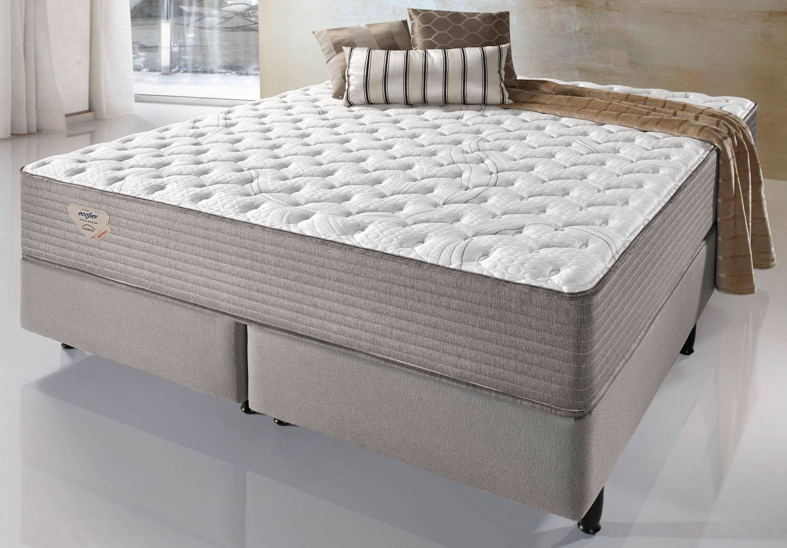 Conjunto Cama Box Multi Support Ecoflex - All Home