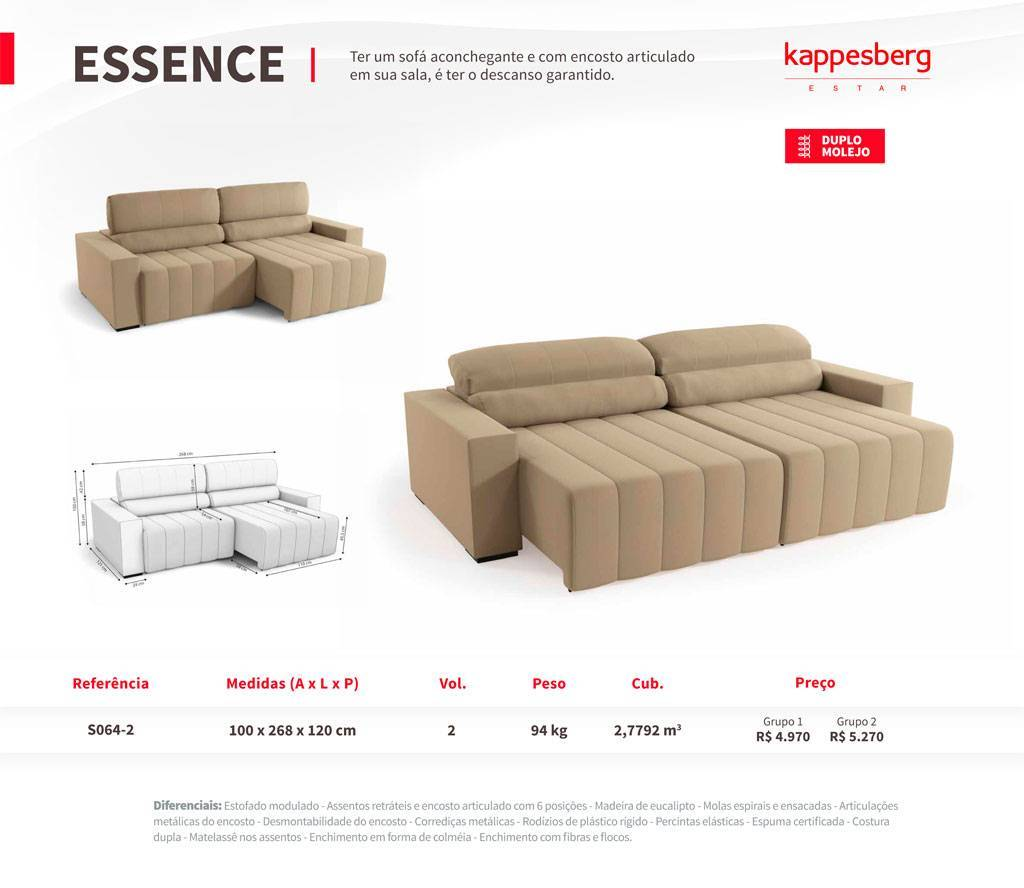 Estofado Essence Kappesberg  - All Home
