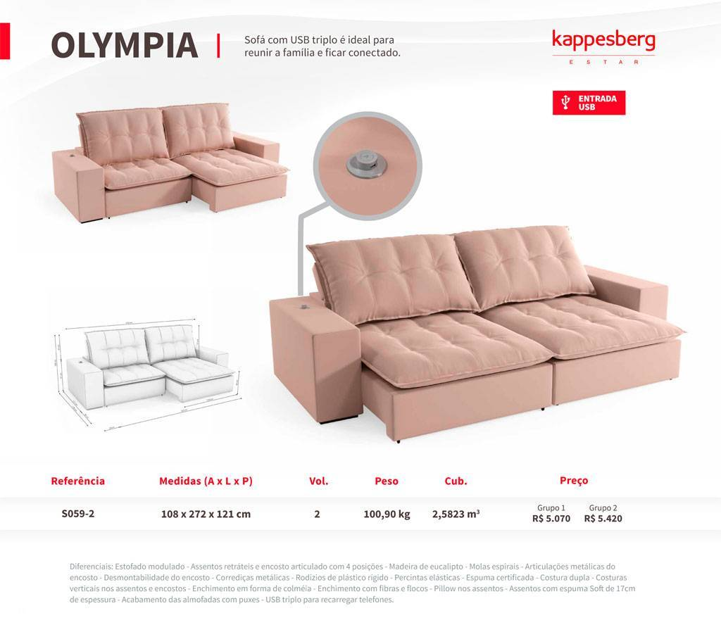 Estofado Olympia Kappesberg  - All Home