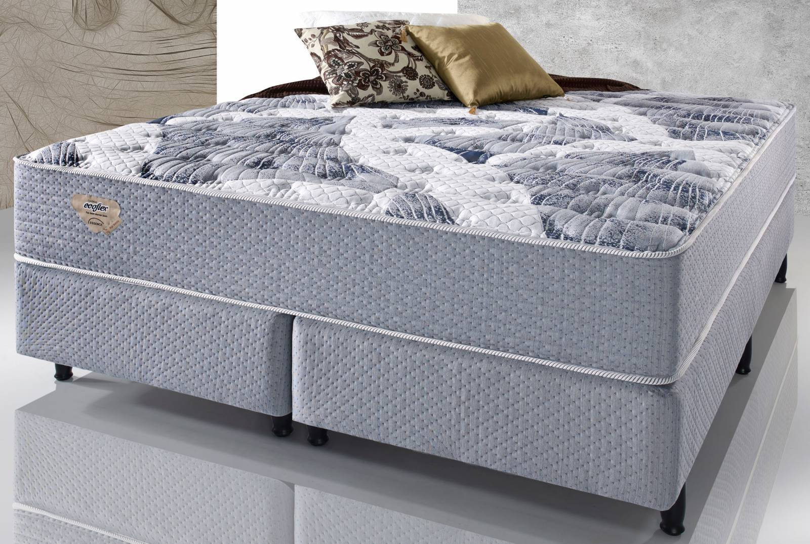 Conjunto Cama Box High Density II Ecoflex - All Home