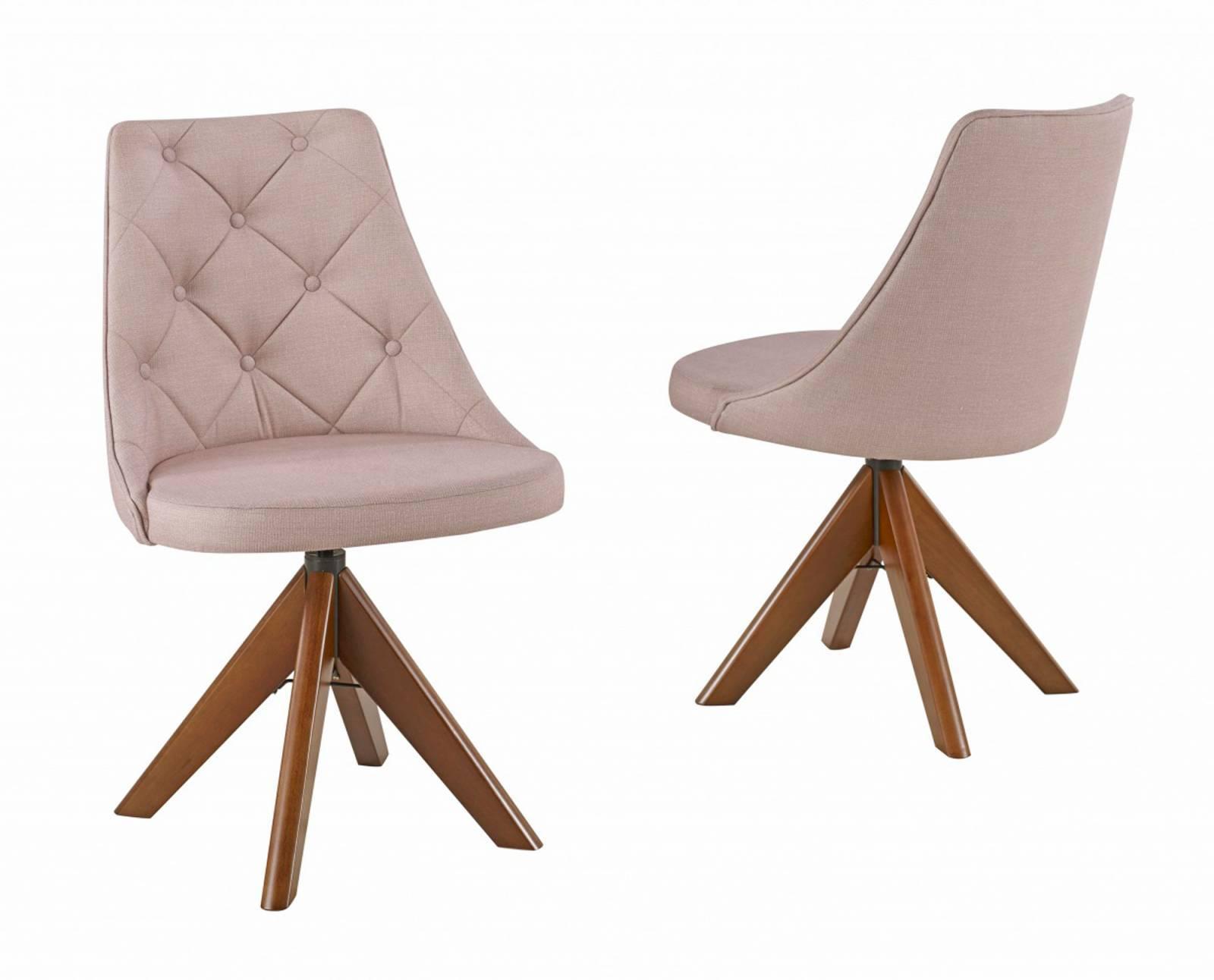 Cadeira Elegance Giratória com Botões Diplomata Móveis - All Home