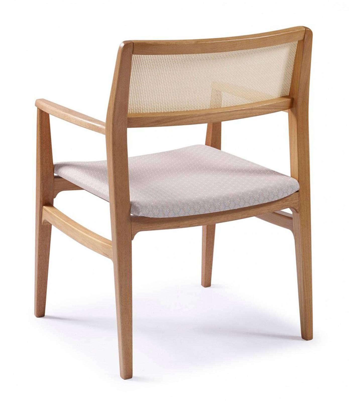 Cadeira Damata com braço Móveis Rudnick - All Home