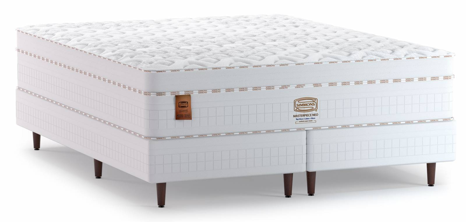 Conjunto Cama Box Masterpiece Neo Simmons - All Home