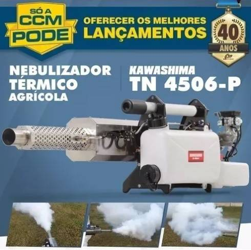 Nebulizador Térmico Kawashima TN 4506-P tanque químico 6L - BSS Maquinas