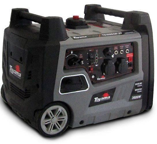 Gerador Inverter Toyama TG3500ISPXP 110V 3.5kva Portátil Sil - BSS Maquinas
