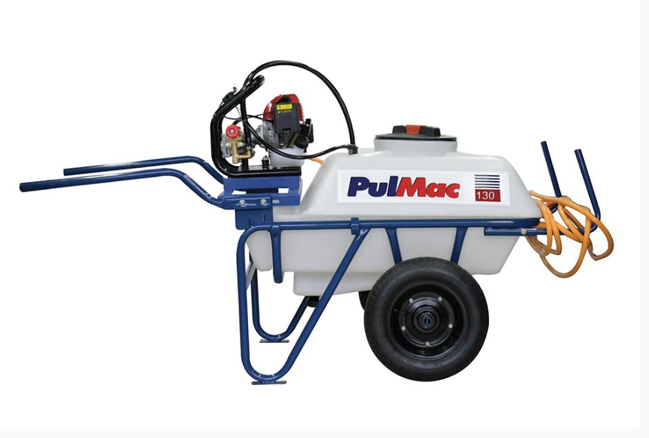 Pulverizador Pulmac 130S40R, 130lt, motor gasolina 7hp c/ re - BSS Maquinas