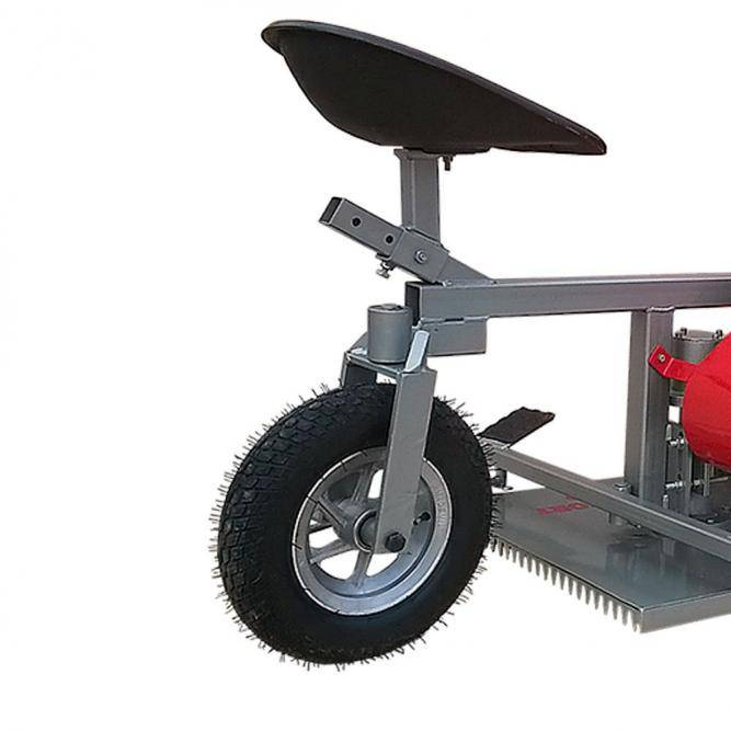 Aparador Grama AGT-500 Motocultivador Gasolina - Um Pneu - BSS Maquinas
