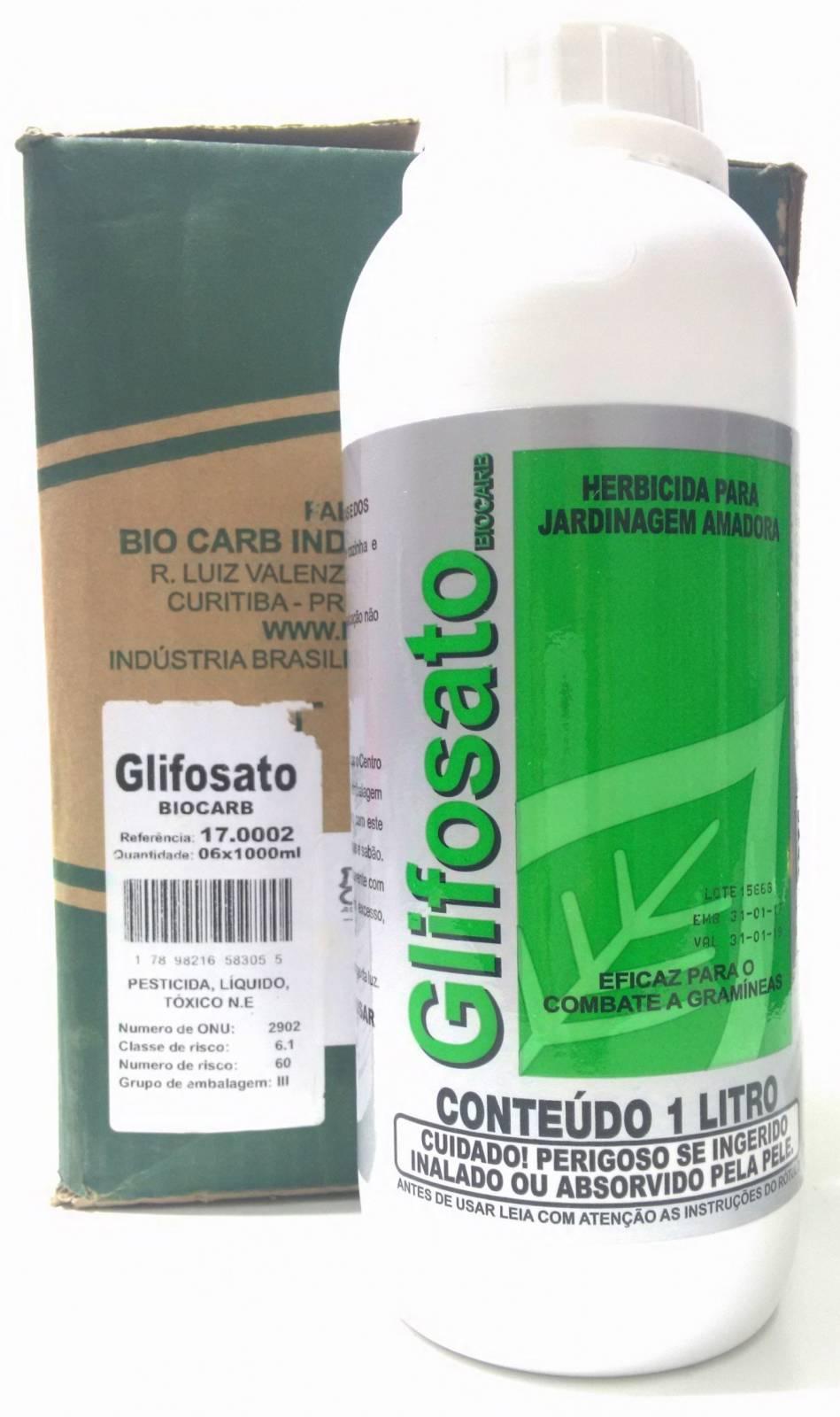 Glifosato 1 litro (mata-mato) - BSS Maquinas