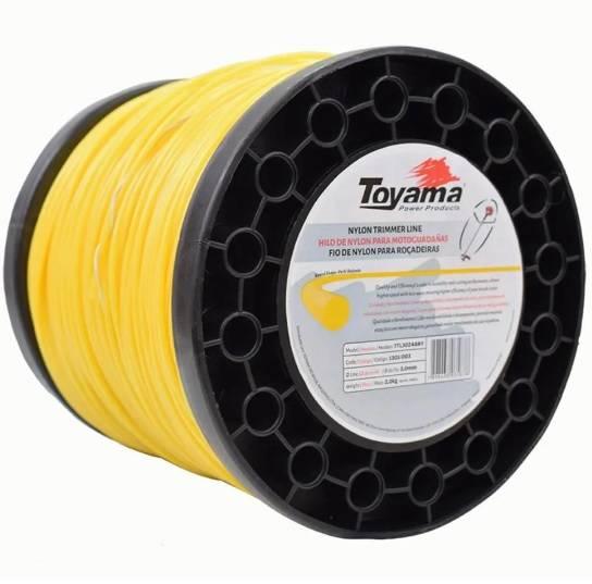Fio de Nylon Toyama 3.0mm - Rolo 2kg - BSS Maquinas