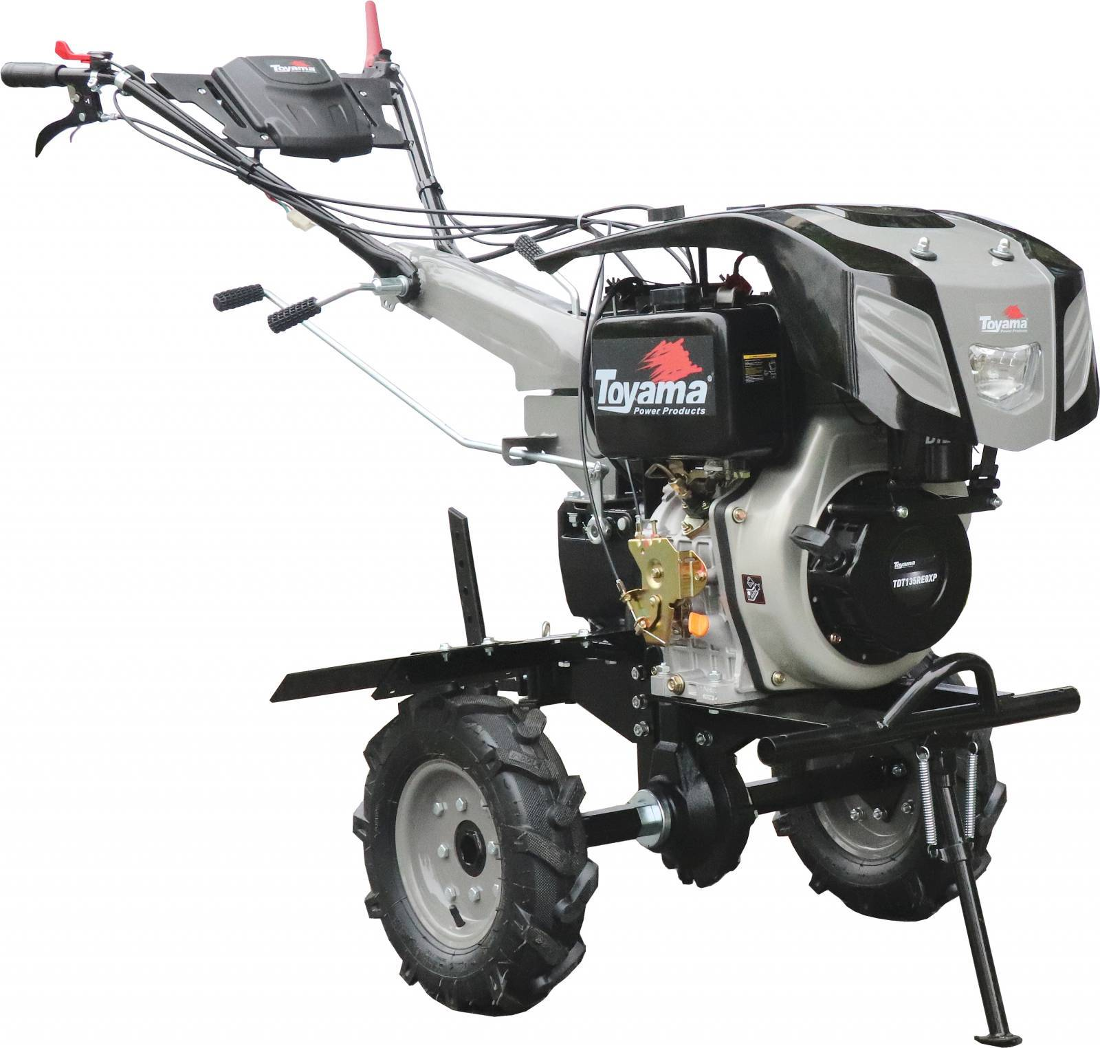 Motocutivador a Diesel TDT135RE8-XP - 11.0HP - 1,35m - Aro 0 - BSS Maquinas