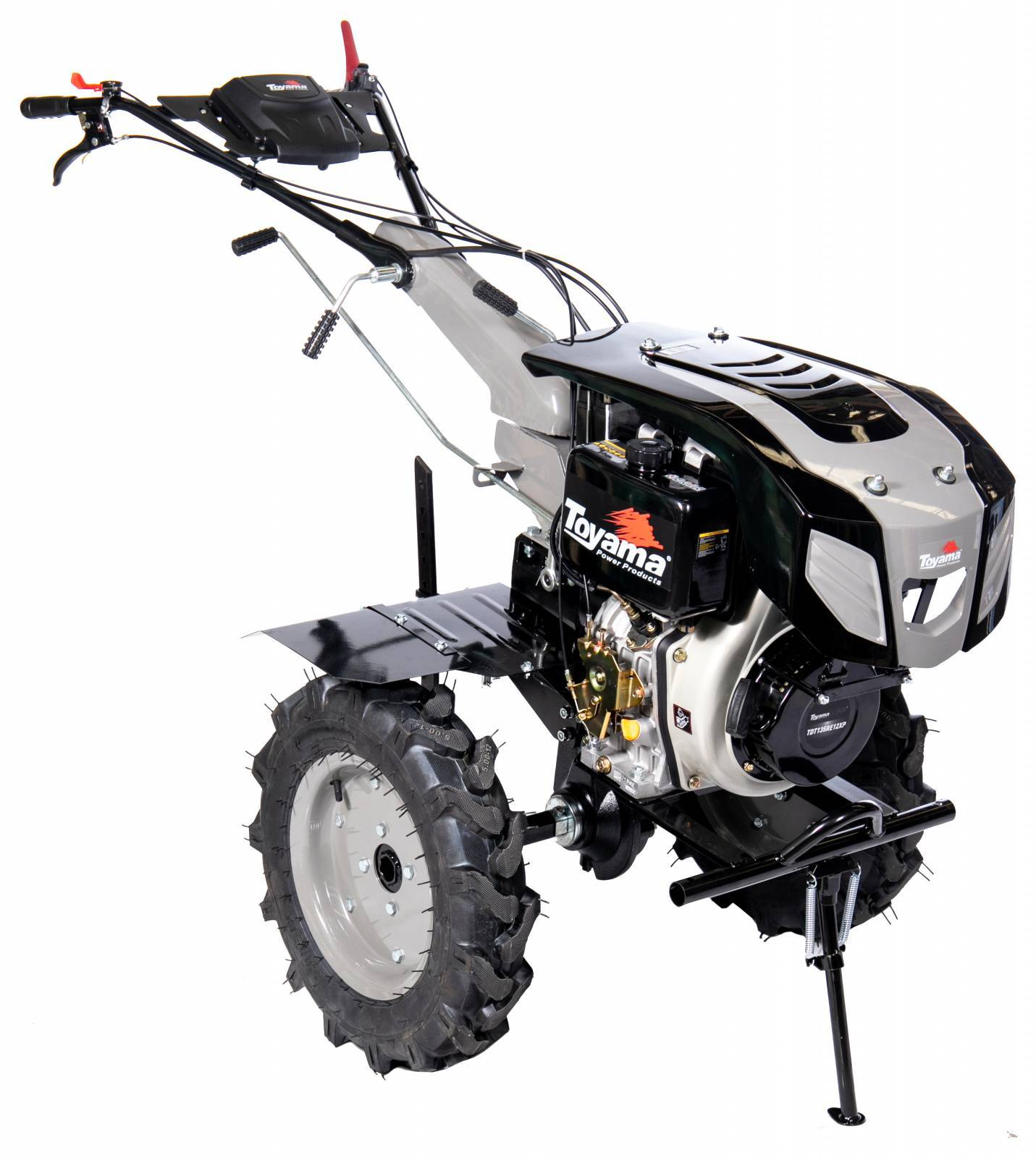 Motocutivador a Diesel TDT135RE12-XP - 11.0HP - 1,35m - Aro  - BSS Maquinas