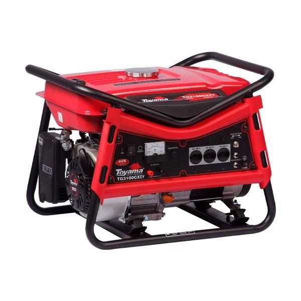 Gerador de Energia a Gasolina 4T 212CC 3,0KVA Monofásico Biv - BSS Maquinas
