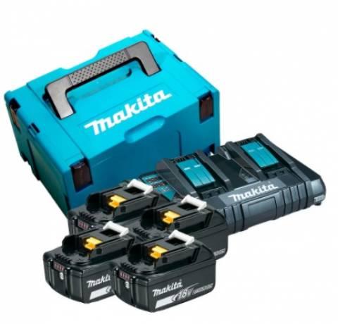 Kit Soprador 18V 6 Velocidades com 4 Baterias 5Ah,Carregador - BSS Maquinas