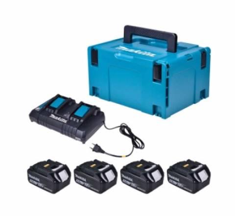 Roçadeira a Bateria 36V DUR365Z KIT 4 baterias 5.0AH, Carreg - BSS Maquinas