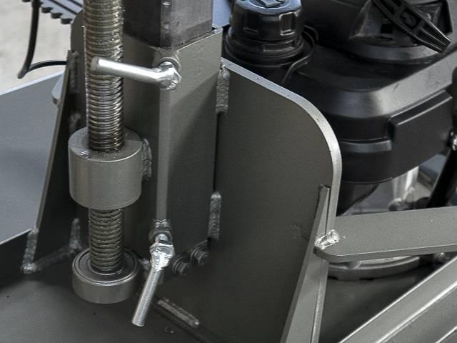 Aparador de Grama Traseiro p/ Motocultivadores AGT700M S/ Mo - BSS Maquinas