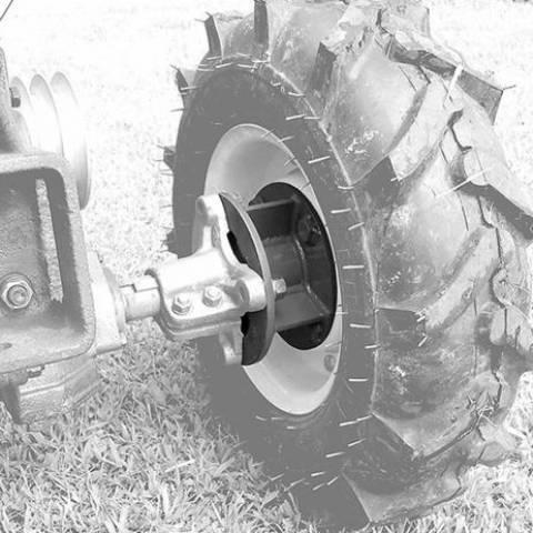 Distanciador de Rodas para Micro Trator Diesel - Tobatta/Yan - BSS Maquinas