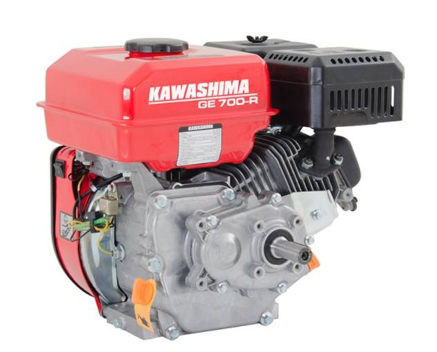 General Water - Motor GE 700R 4T à gasolina 1800 RPM - Partida Manual - BSS Maquinas