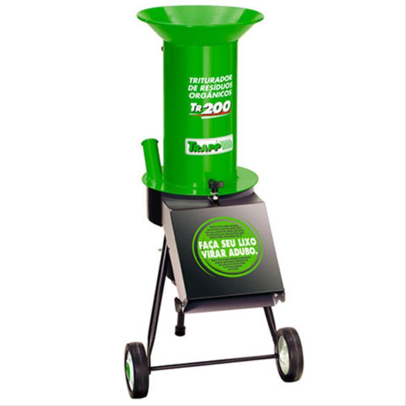 Triturador TRAPP TR200 Bi Ideal P/ compostagem, Em OFERTA!!! - BSS Maquinas