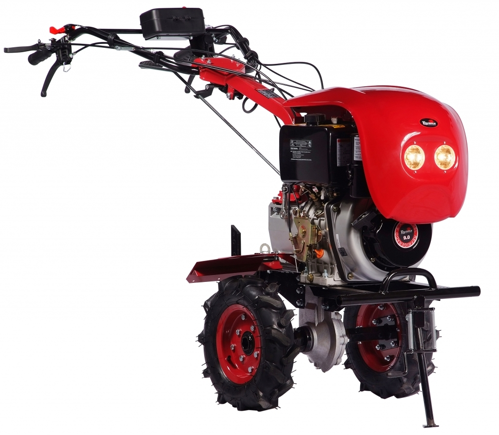 Motocultivador Toyama TDT110 Diesel Aro8 418cc c/ Farol 9hp