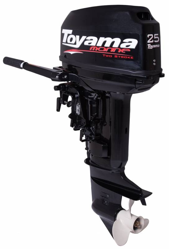 Motor de popa TOYAMA MARINE TM25TS 25Hp 2tempos, Em PROMOÇAO - BSS Maquinas
