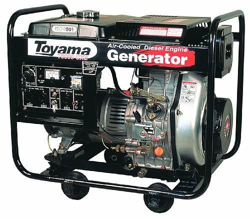 Gerador diesel TOYAMA TD6000CXE, você encontra aqui na BSS! - BSS Maquinas