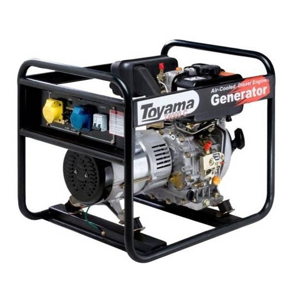 Gerador diesel TOYAMA TD4000CX 3,8 Kva, Em OFERTA IMPERDÍVEL - BSS Maquinas
