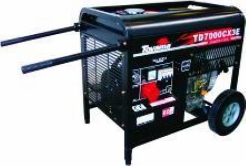 Gerador diesel TOYAMA TD7000CX3ED  6 Kva trif. 220V