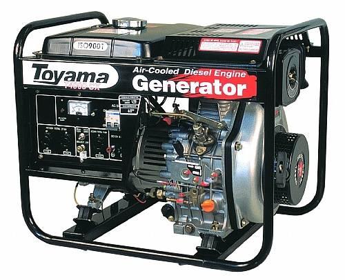 Gerador diesel TOYAMA TD4000CXE 3,8 Kva, Em OFERTA, CORRA!!! - BSS Maquinas