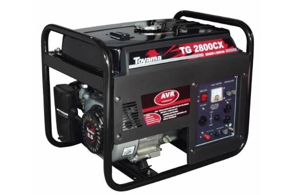 Gerador gasolina TOYAMA TG2800CXE  2400 watts