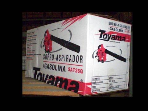 Soprador-aspirador TOYAMA SAT26G c/ kit aspiração, Em OFERTA - BSS Maquinas