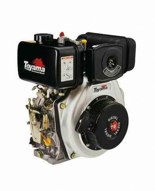 Motor TOYAMA 6,7HP diesel P. elétrica eixo 1
