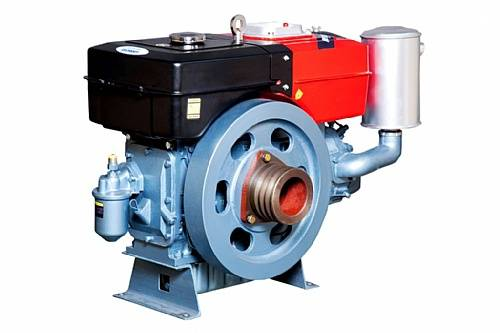 Motor diesel TDW22D TOYAMA 24 hp refrigerado água c/ sifão - BSS Maquinas