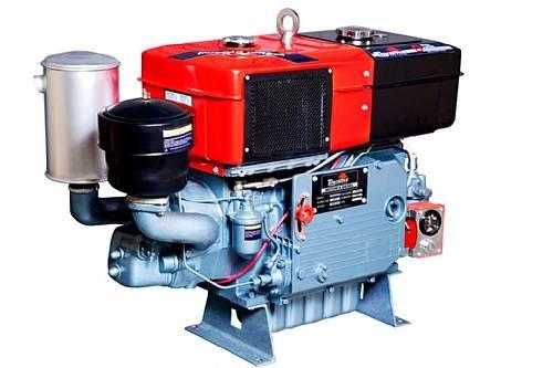 Motor diesel TDW22DR TOYAMA 24 hp refrigerado água com radia - BSS Maquinas