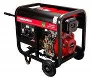 Gerador Branco Diesel BD 6500 E 5,0 KVA Partida Eletrica