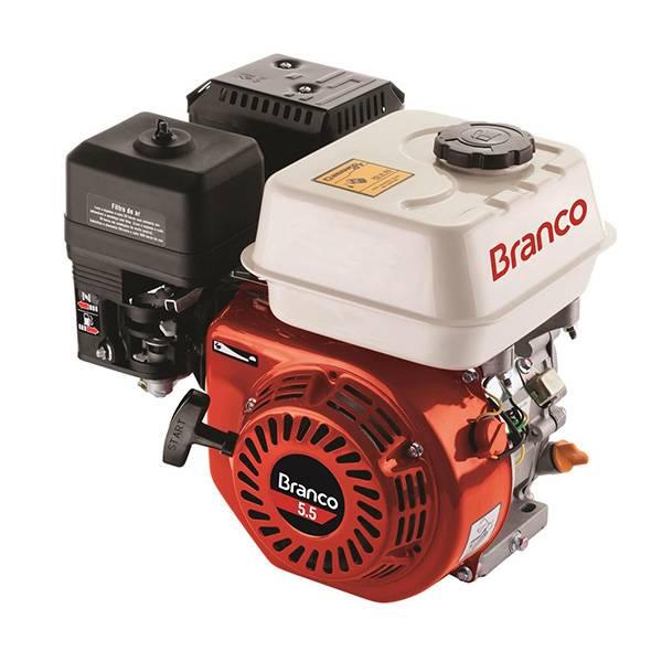 Motor Branco Gasolina B4T 15,0 CV Part. Elétrica 4T Monoci. - BSS Maquinas