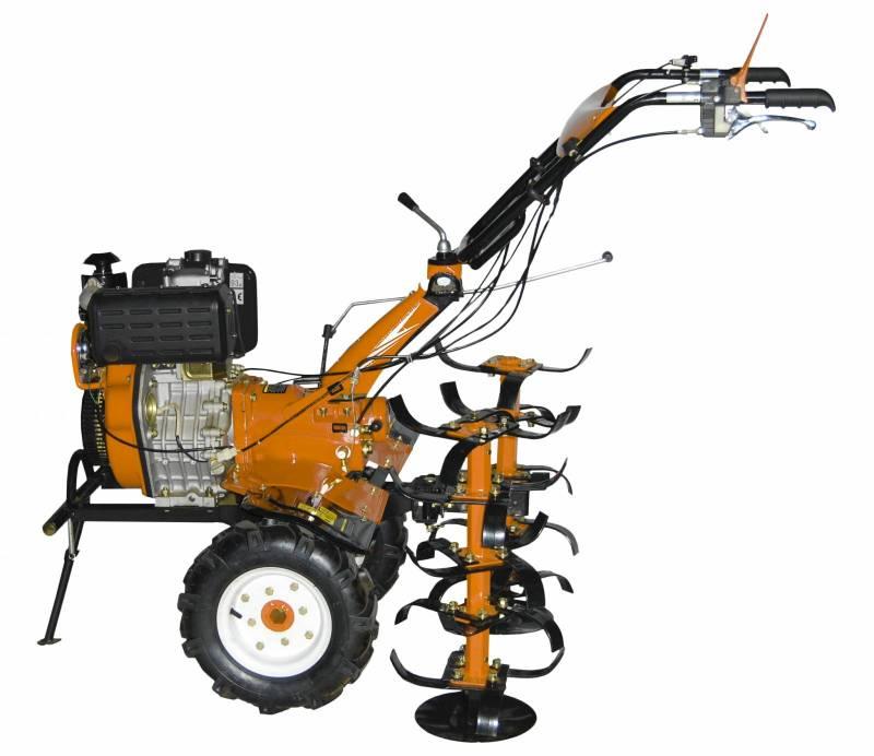 Motocultivador a Diesel - 10HP - (Tratorito) - P. Manual