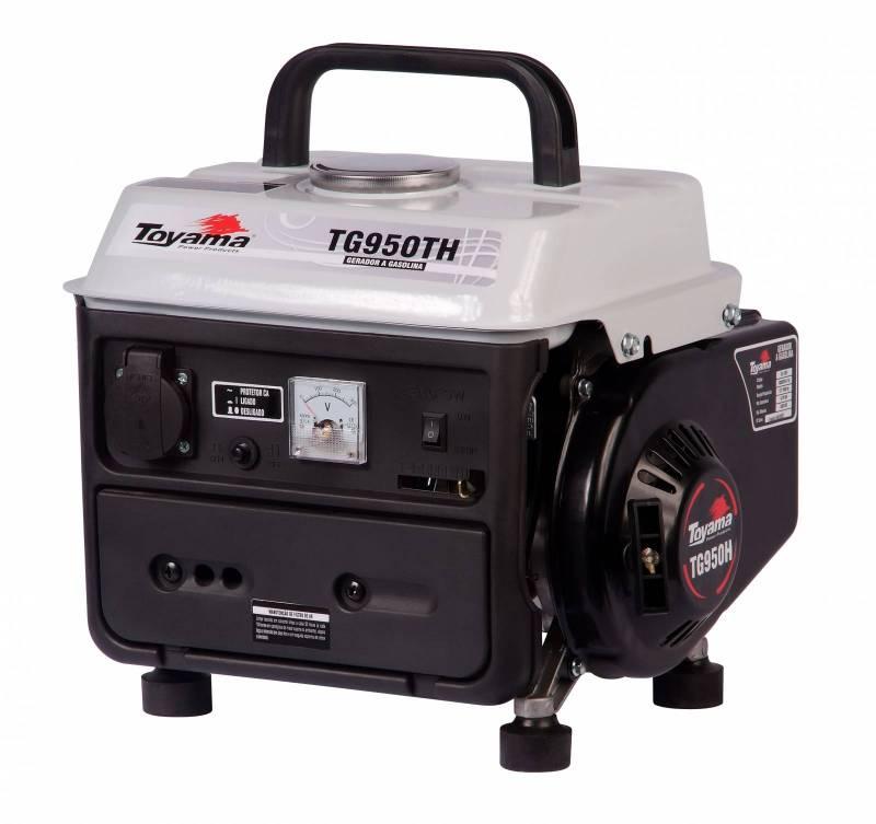 Gerador Toyama TG950TH - 110V - Gasolina - 800 Watts - BSS Maquinas