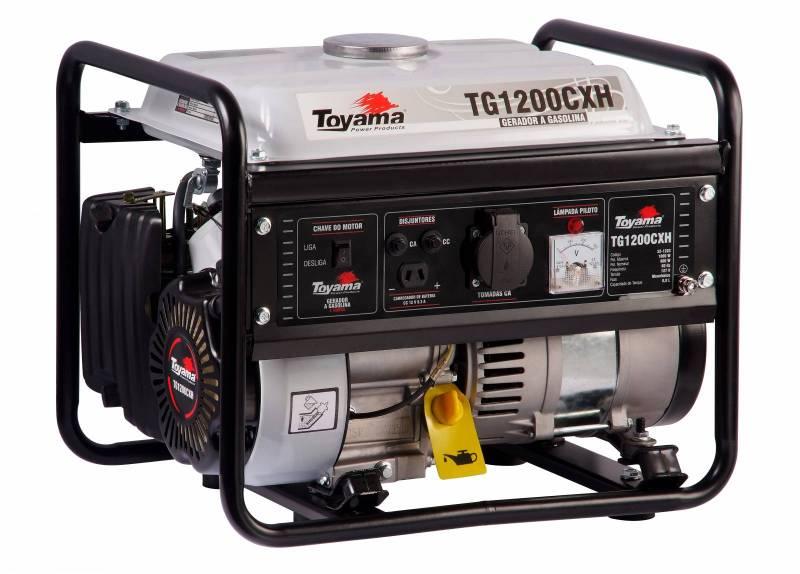Gerador Toyama TG1200CXH 220V Gasolina 1000W, Em PROMOÇÃO!!! - BSS Maquinas