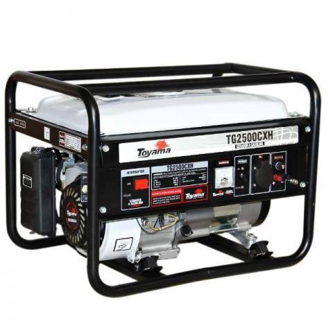 Gerador Toyama TG2500CXH - 110V - Gasolina - 2200 Watts - BSS Maquinas