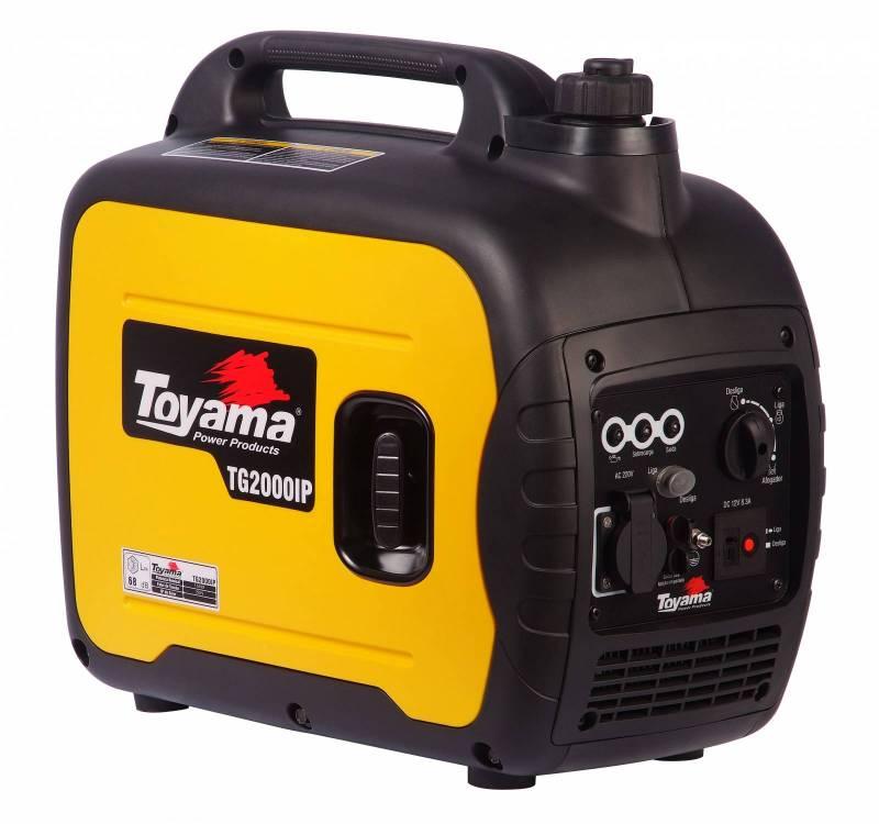 Gerador gasolina TOYAMA TG2000ip 1,8Kva 110v, Em OFERTA!!! - BSS Maquinas