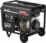 Gerador a Diesel Toyama TDG8000CXE3D TRIF 8,1 kVA max 220V c  AVR