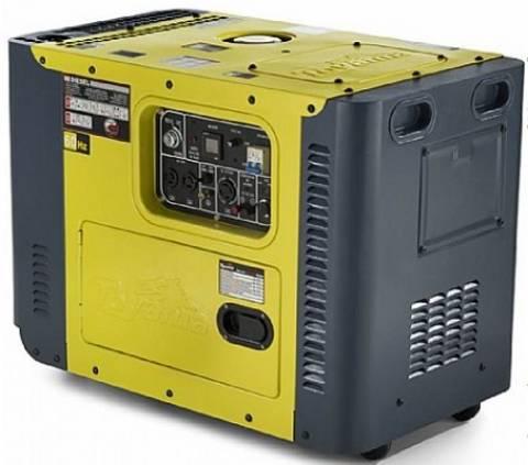 Gerador a Diesel Toyama TDG8000SLE MONOF 6,5 kW max 127/220V