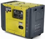 Gerador a Diesel Toyama TDG8000SLE3 TRIFÁSICO 8,1 kVA 380V