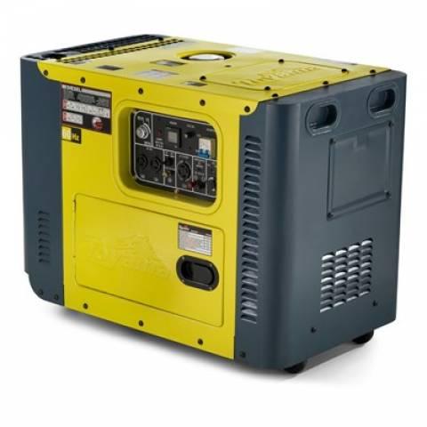 Gerador Toyama TDG8000SLE3 Diesel Trif. 8,1 Kva, Em PROMOÇÃO - BSS Maquinas