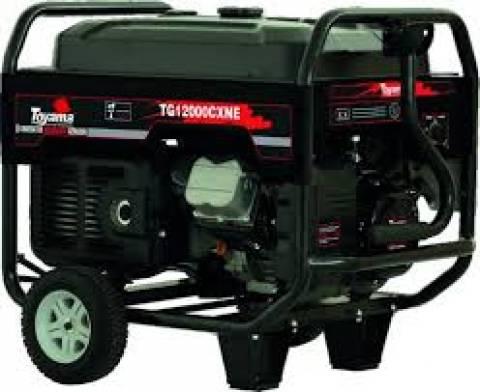 Gerador gasolina TOYAMA TG12000CXNE-XP 10,5 Kva  - BSS Maquinas
