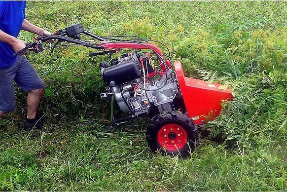 Roçadeira Frontal RF700 p/ Motocultivador Diesel 10HP RODADO - BSS Maquinas