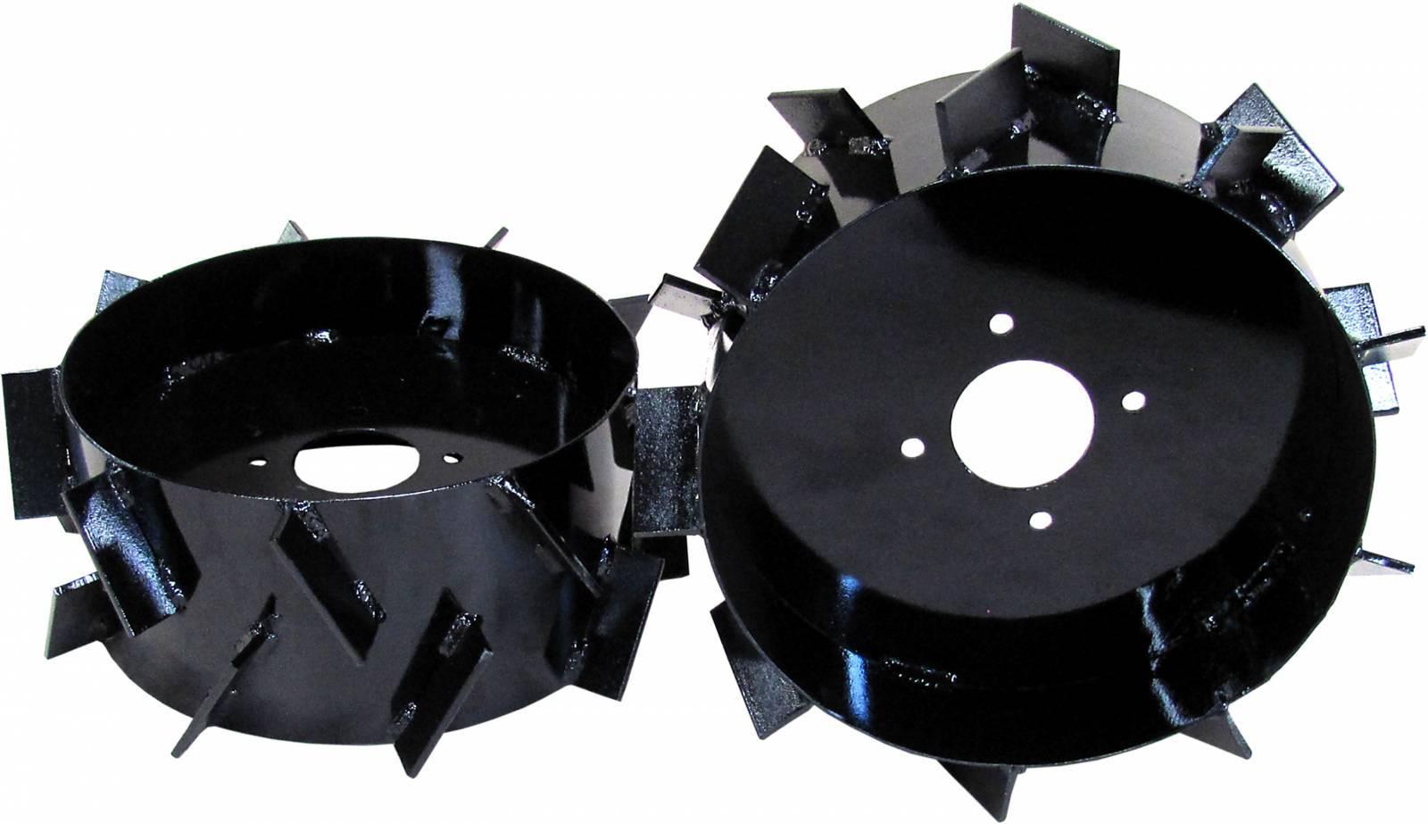 Conjunto de Rodas de Ferro para Motocultivadores de até 7cv - BSS Maquinas